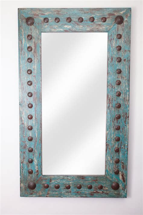 western mirrors for the bathroom puebla rustic
