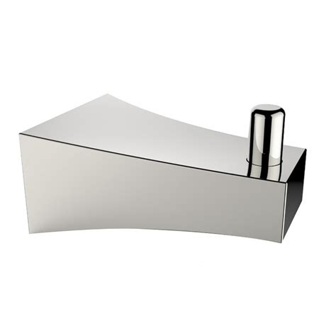 Rectangle Toilet Rack american imaginations ai 13496 chrome plated single rod