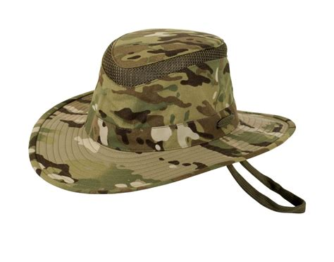 ltm6 nylon camo waterproof supplex safari hat by tilley