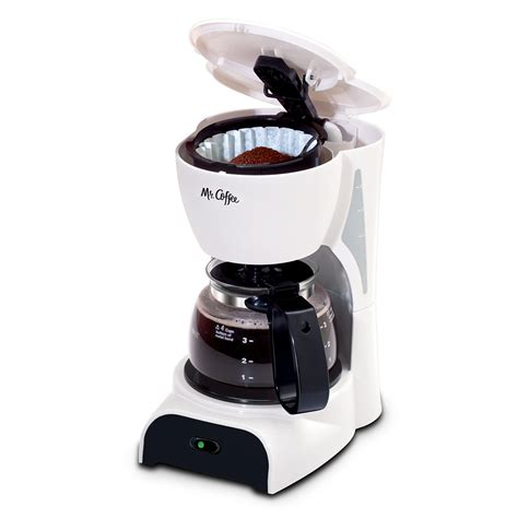 Coffee Maker Manual Espresso 4 Cup mr coffee 174 simple brew 4 cup switch coffee maker white dr4 rb mr coffee