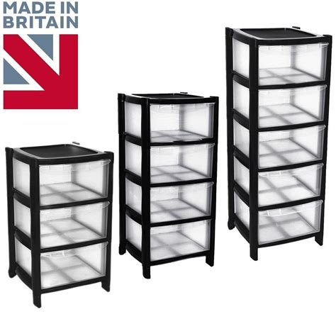 6 drawer plastic storage chest black drawer plastic large tower storage chest unit with