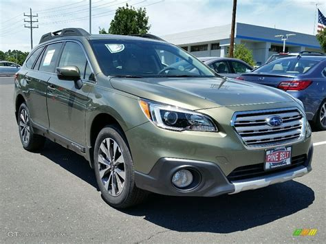 subaru outback 2016 green 2016 wilderness green metallic subaru outback 2 5i limited