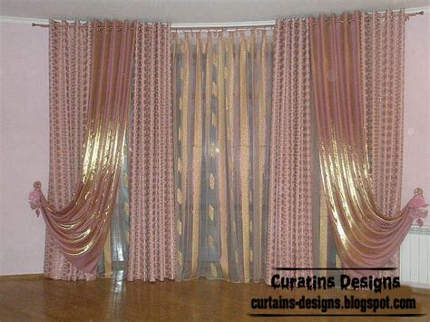 stylish living room curtains curtain designs