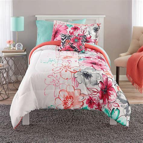 Flowery Set bedding mint green floral comforter set