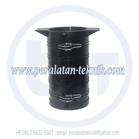 Acrylic Silinder cetakan silinder beton plastic alat uji beton alat
