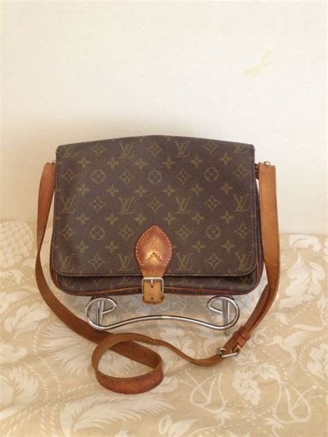 louis vuitton vintage 80s cartouchiere gm crossbody by tarasfinds 270 00 my style