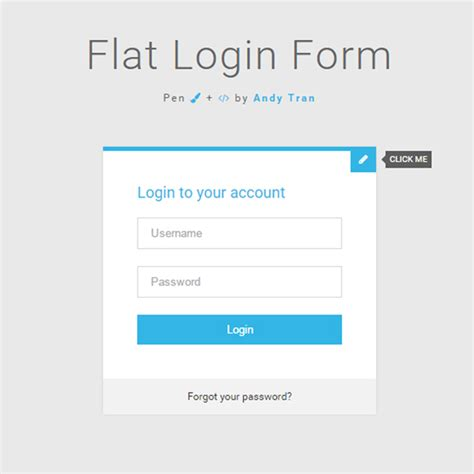 free login layout css 40 powerful free css3 html5 login form templates dovethemes