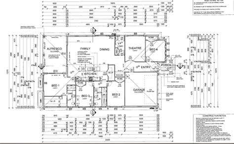 Detailed House Plans | detailed house plans 28 images house plan moderate