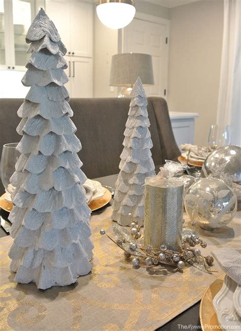 gold and silver home decor gold and silver christmas tablescape featuring world