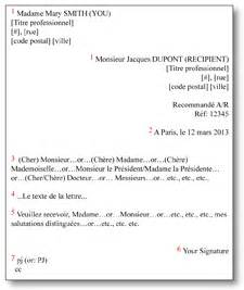 Business Letter In French French Letter Writing Logistics Fusac Fusac