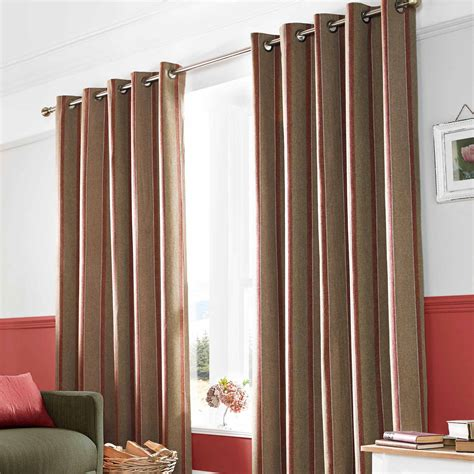 striped curtains ready made eyelet fully lined ready made striped curtains pair duck