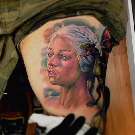 dragon tattoo game of thrones khalessi from game of thrones tattoo designs