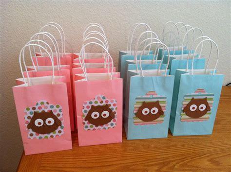 goodie bags owl goodie bags