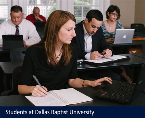 Dbu Mba Admissions Requirements by Dallas Baptist Education Universities