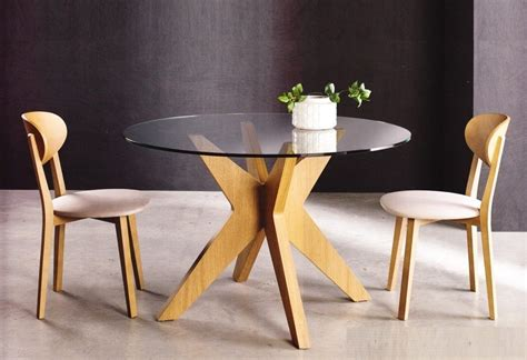 roma mesa redonda cristal  muebles toro monzon