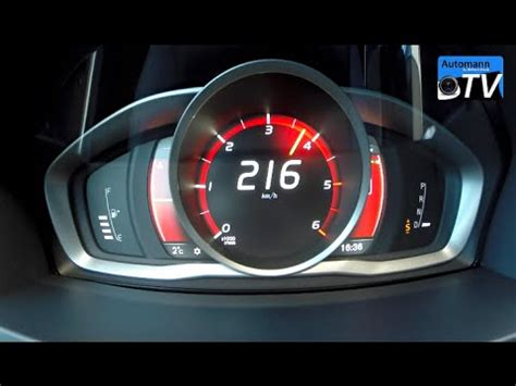 volvo   hp  spd   kmh acceleration p youtube