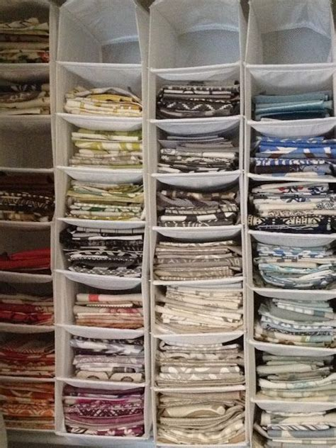 t shirt closet organizer 25 unique fabric storage ideas on sewing room