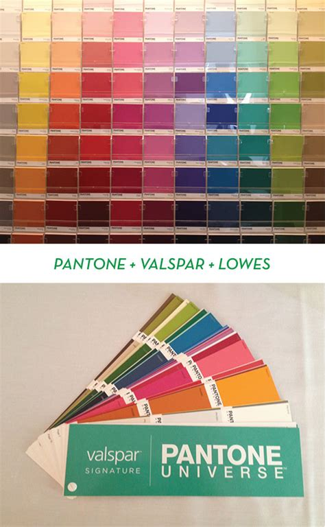 color with confidence pantone valspar lowe s design crush