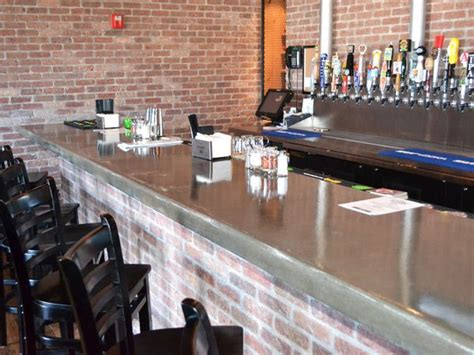 Restaurant Bar Tops Concrete Bar Top Ideas On May 7 2012 183 Posted In
