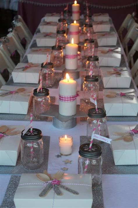 Kara's Party Ideas Under the Stars Tween Teen Outdoor Birthday Party Planning Ideas Decor