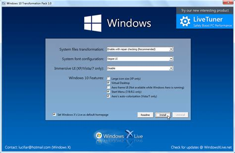 software free download for pc full version windows xp windows 10 transformation pack 7 0 free download