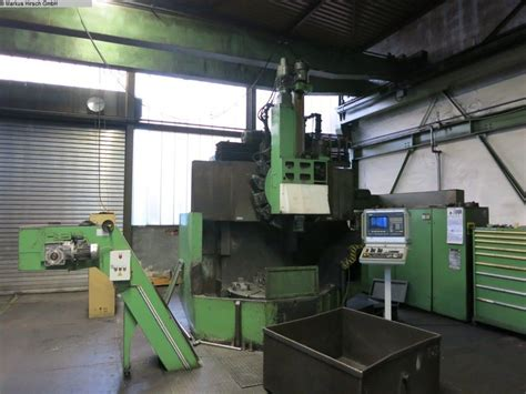 Lathes Tos Skq12 Vertical Turret Lathe Single Column