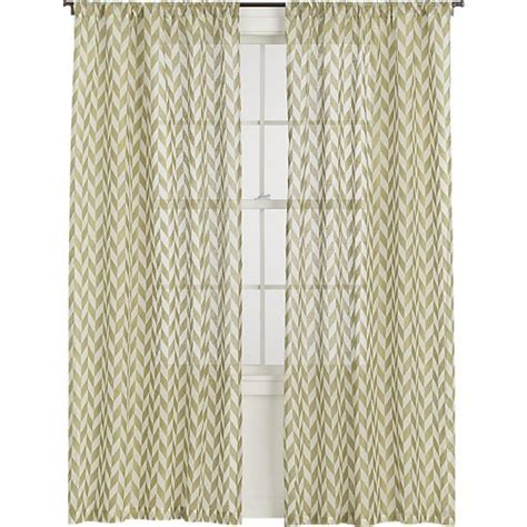 sheer gold curtains sheer gold herringbone curtains at crate barrel home