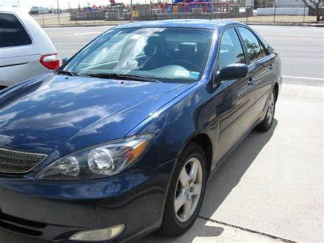 2002 Toyota Camry Se Find Used 2002 Toyota Camry Se Sedan 4 Door 3 0l Blue