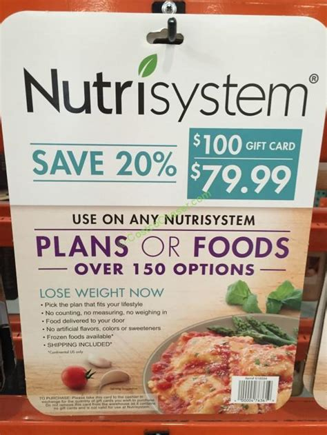 Costco Nutrisystem Gift Card - beachbody super trainers share 13 tips to nutrisystem costco gift cards