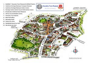 map of with towns town map oswestry town museumoswestry town museum