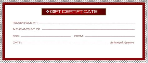 free business gift certificate template business gift certificate template word excel templates