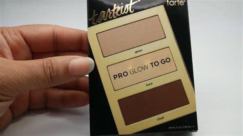 Tarte Pro Glow tarte tarteist pro glow to go palette