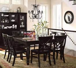 Black Dining Room Table The Concepts Of Use Black Dining Room Table