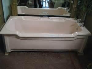 enamel bathtubs antiques atlas pink enamel bath