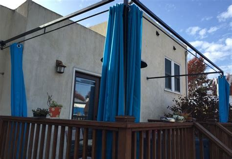Diy Canopy Bed With Curtain Rods How To Customize Your Outdoor Areas With Privacy Screens