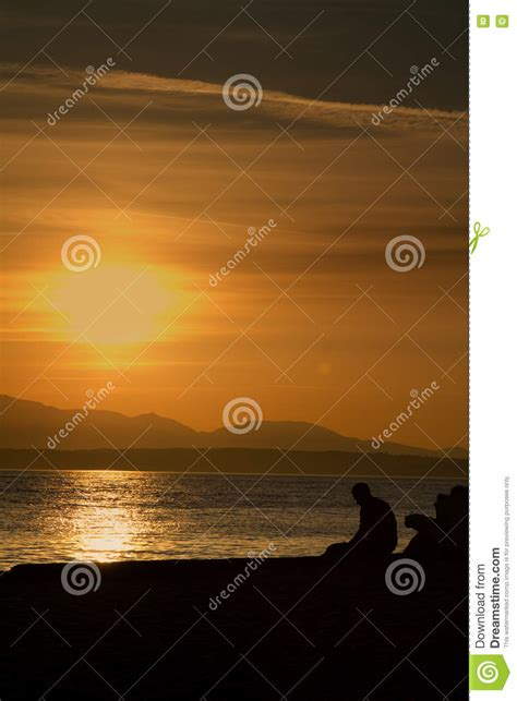 Reese Witherspoon Alone And Sad At The Golden Globes by A Lonely Sad Sitting Alone At The During Sunset
