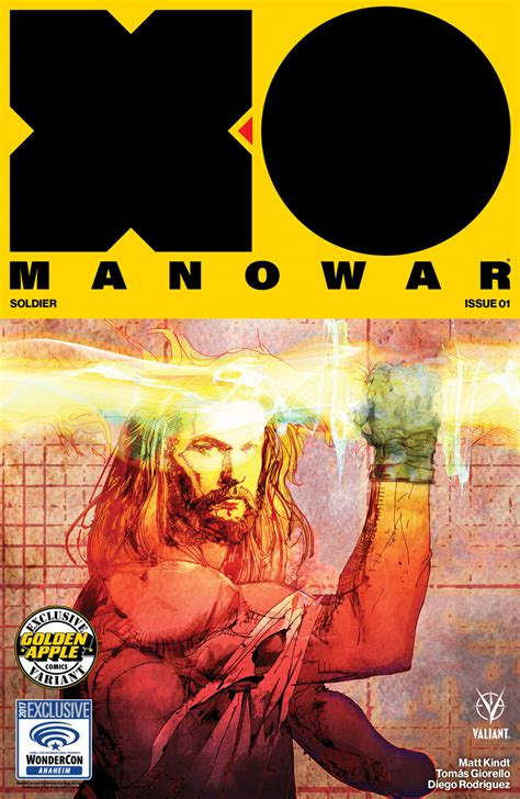 wondercon  valiant brings   manowar secret