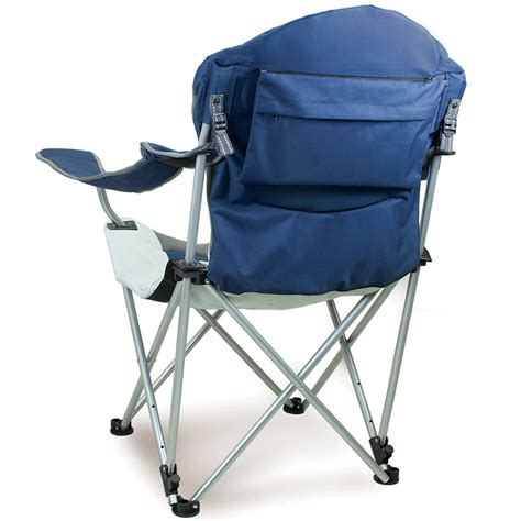 Reclining Folding Chair by Reclining C Chair Navy Picnic Time 803 00 138