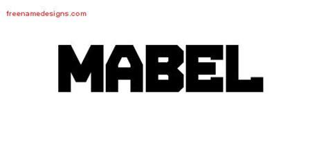 mabel archives free name designs - Möbeltattoo Vintage