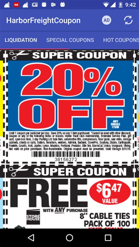lima coupon coupons for harbor freight android apps on play