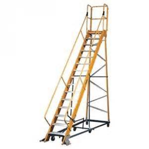 warehouse rolling ladder safety tips