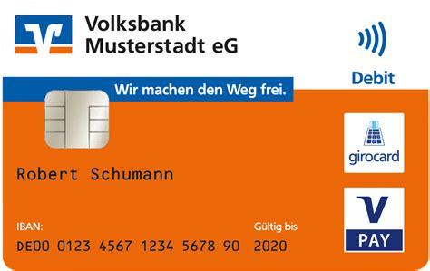 vr bank iban rechner bankcard der volksbank l 252 bbecker land jetzt neu mit