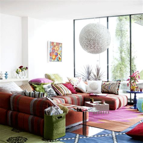 Bohemian Living Room Decor by 18 Boho Chic Living Room Decorating Ideas Decoholic