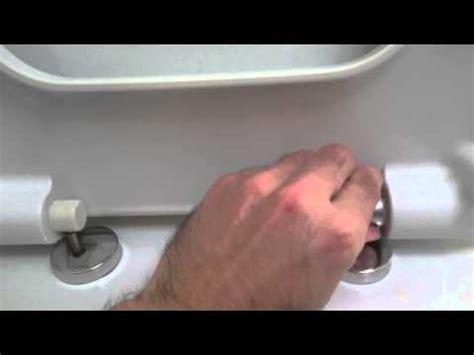 how to tighten a duravit toilet seat remove vitra shift toilet seat youtube