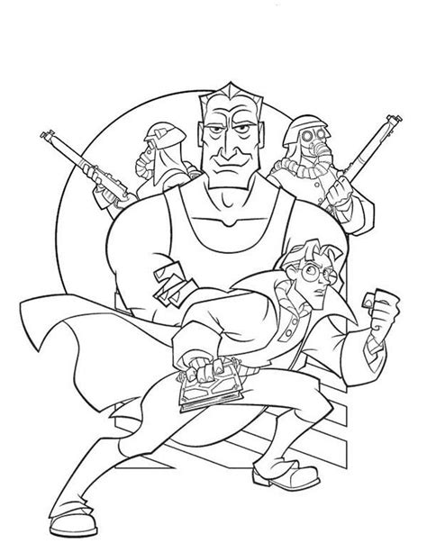 Atlantis The Lost Empire Coloring Pages Coloring Pages Atlantis The Lost Empire Coloring Pages