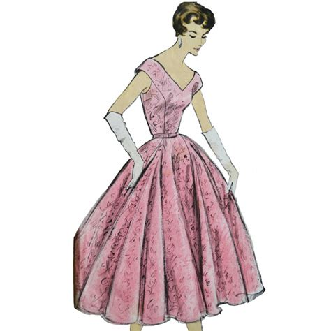 sewing pattern evening gown prom dress evening gown sewing pattern by vogue special design
