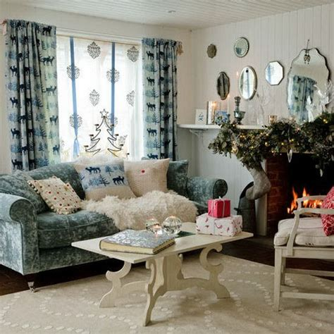 decorating country home 60 elegant christmas country living room decor ideas