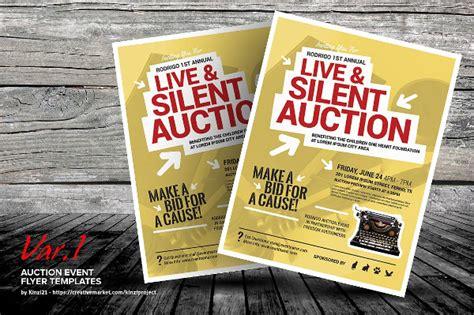 auction brochure template 23 event flyer templates free premium