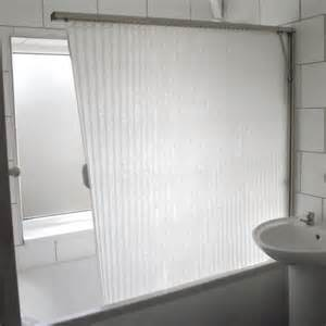 Over Bath Shower Screens Uk fold away shower screen over bath folding curtain white