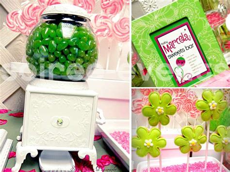 pink and green ladybug baby shower decorations pink green ladybugs baby shower ideas photo 6 of